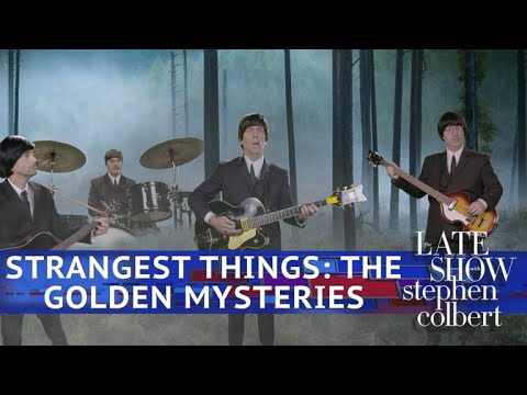 Kids Pitch A New TV Show: 'Strangest Things: The Golden Mysteries'