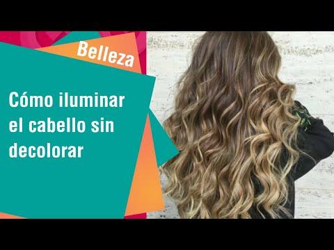 Formas de iluminar el cabello sin decolorar   Tips de Belleza