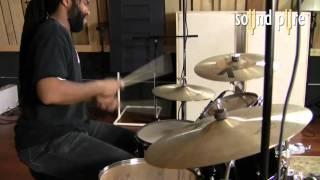 CharterOak m900t Tube Pencil Mics - Drum Overheads Demo /video