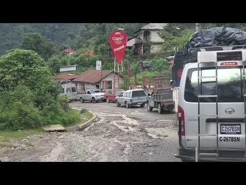 La lluvia afecta a los conductores del norte de Huehuetenango