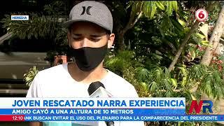 Joven rescatado en Cerro Dantas narra experiencia