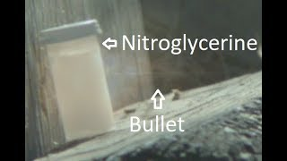Will 1300fps Lead Set Off Nitrated Glycerol?