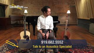 OOO Acoustic Guitar Comparison: Traditional (Martin) vs Modern (Goodall) Quick n' Dirty