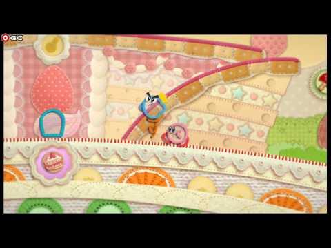 connectYoutube - Kirby's Epic Yarn Nintendo Wii Adventure Kids Platform Games #7