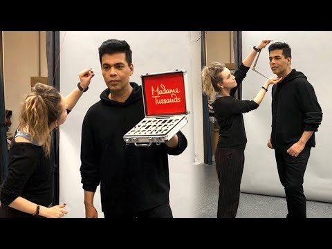 Karan Johar Wax Statue At Madame Tussauds | First Bollywood Director