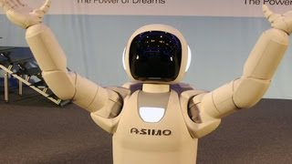 Honda's Asimo robot shows off new moves
