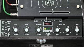 EP-34 Tape Echo plug-in for UAD-2