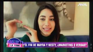 ¿Marketing o realidad Los rumores de ruptura entre Mayra Goñi y Nesty