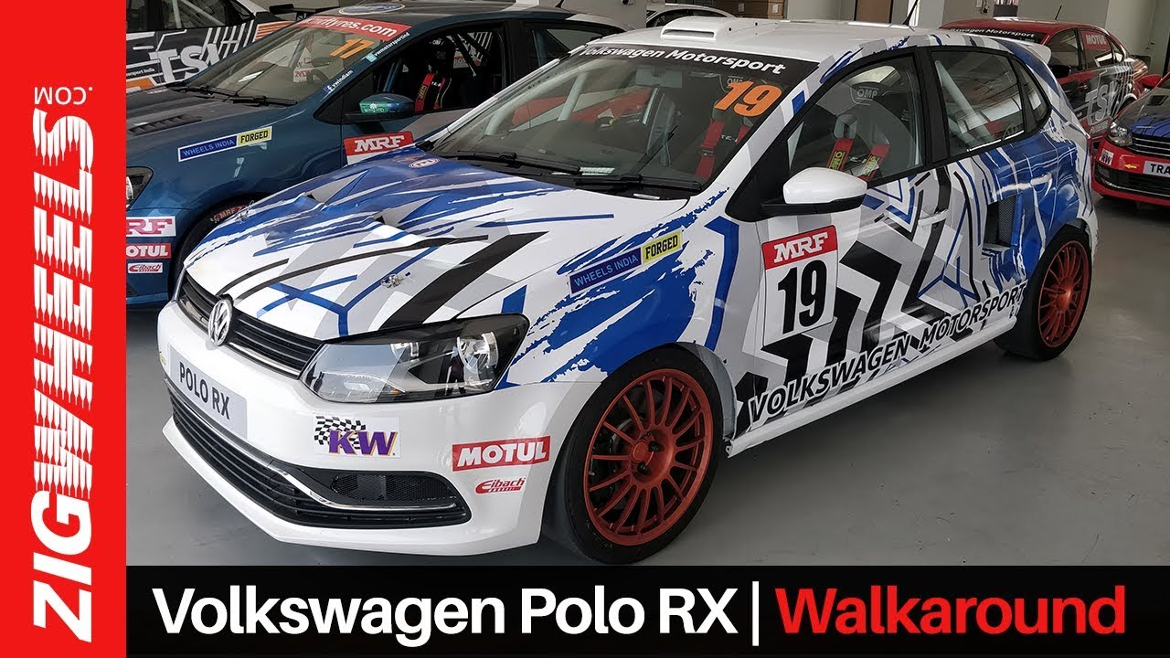 205PS Volkswagen Polo RX  Winter Project Walkaround | RWD Super Hatch! | ZigWheels.com