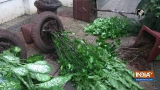 Unknown miscreants vandalize Dr Babasaheb Ambedkar's house in Dadar - INDIATV