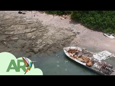 Tras 21 días y con ayuda de 219 voluntarios, termina recolección de residuos de yate en Cabo Blanco