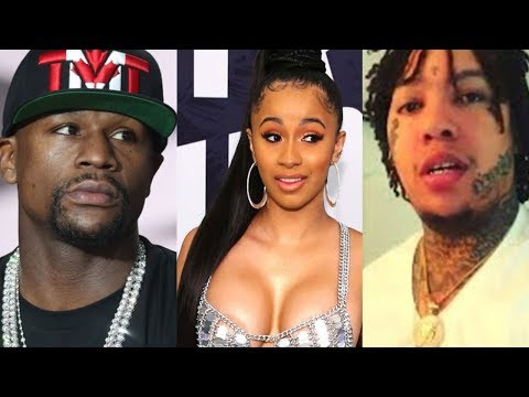 connectYoutube - King Yella Signs to Floyd Mayweather For $1 Million Dollars after Beefing with Cardi B & Offset
