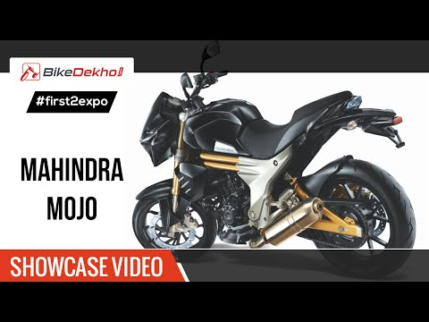 #first2expo | 2016 Mahindra Mojo Concept Showcase Video | BikeDekho@AutoExpo