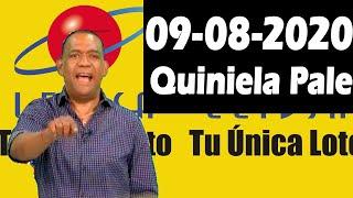 Resultados y Comentarios Quiniela Pale de Leidsa  09-08-2020 (CON JOSEPH TAVAREZ)