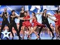 Latin dance troupe Kings and Queens bring passion to the stage | Britain's Got Talent 2014
