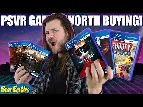 connectYoutube - 10 BEST PlayStation VR (PSVR) Games Worth Buying!