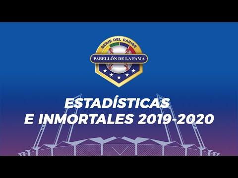 SALÓN DE LA FAMA SERIES DEL CARIBE | Desde la CBPC sobre Estadísticas e Inmortales 2019-2020