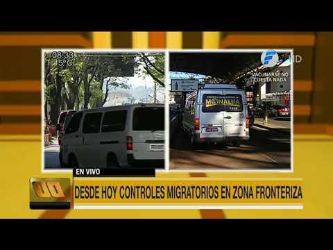 Desde hoy controles migratorios en CDE