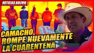 ???? Pedirán inhabilitar a Luis Fernando Camacho por viajar a la Chiquitania en medio de la ?U?REN?EN?