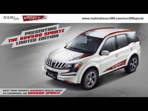 New Limited Edition XUV500 Sportz