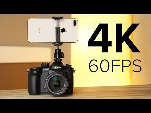 iPhone 8 Plus vs GH5 Pro - 4K 60FPS Comparison