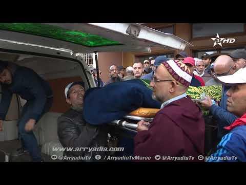 فيديو أجواء تشييع جنازة مصطفى مديح إلى مثواه الأخير.