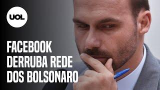 FACEBOOK DERRUBA REDE DE CONTAS LIGADAS AO CLÃ BOLSONARO E DEPUTADOS DO PSL