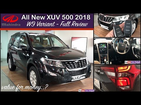 2018 Mahindra Xuv 500 Facelift W9 | Xuv 500 2018 W9 Interior and Exterior | 2018 Xuv 500 W9 Review