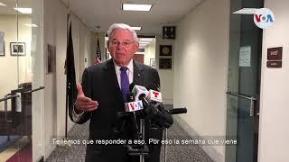Bob Menendez anuncia un paquete de sanciones contra el régimen de Daniel Ortega