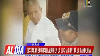 Autoridades lamentan fallecimiento del Dr. Óscar Urenda
