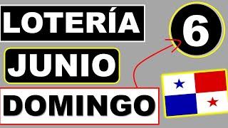 Resultados Sorteo Loteria Domingo 6 de Junio 2021 Loteria Nacional de Panama Dominical Que Jugo