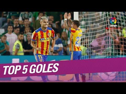 TOP 5 Goles Jornada 8 LaLiga Santander 2017/2018
