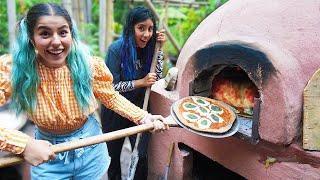 HACIENDO PIZZA EN LA SELVA | LOS POLINESIOS VLOGS