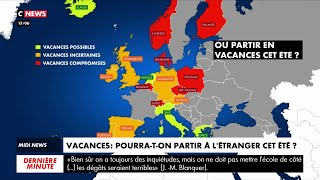 Vacances : pourra-t-on partir à l'étranger cet été
