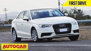 2014 Audi A3 Sedan 1.8 TFSI Petrol   Exclusive India Drive Review