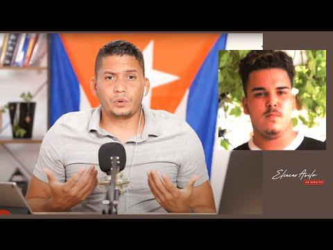Adrian Rubio recibió un abrazo de la comunidad cubana.