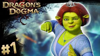 Dragon's Dogma #1 - Princess Fiona (Livestream Highlights)