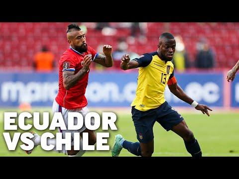 Eliminatorias Sudamericanas fecha 6   Ecuador 0 - Chile 0   Qatar 2022