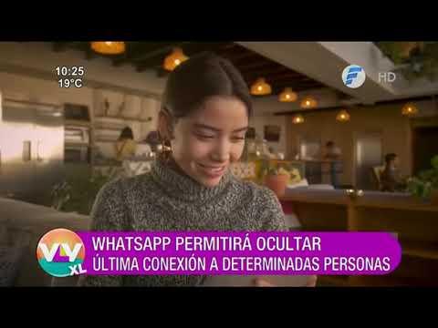 WhatsApp permitirá ocultar última conexión a determinadas personas.