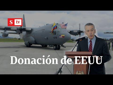 Estos son los aviones Hércules que donó EE.UU a Colombia.   Semana Noticias