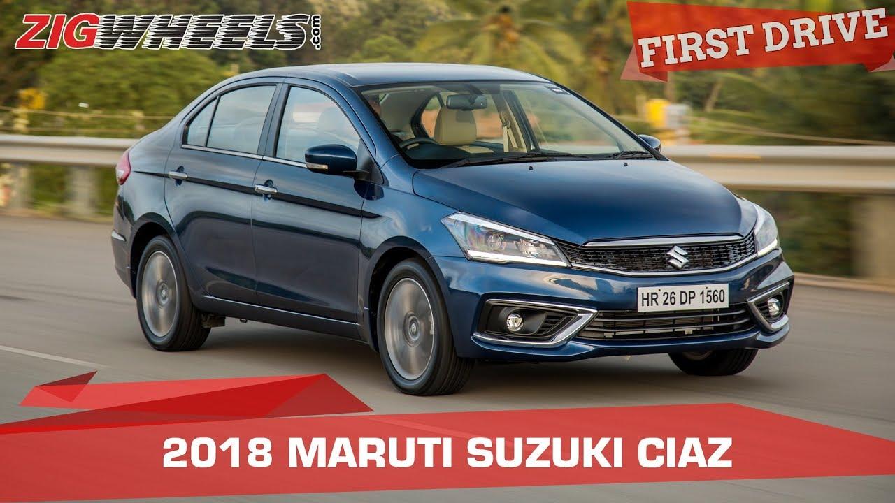 2018 Maruti Suzuki Ciaz Review AT & MT | Old Values, New Charm! | Zigwheels.com