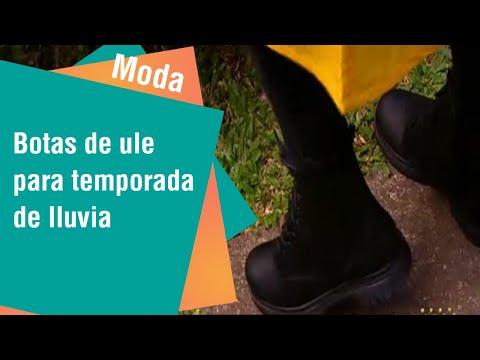 Botas de hule 100% impermeables para temporada de lluvia | Moda