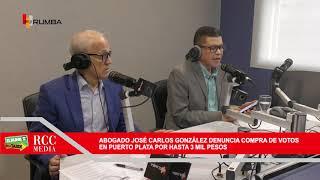 Abogado José Carlos González denuncia compra de votos en Puerto Plata por hasta 3 mil pesos