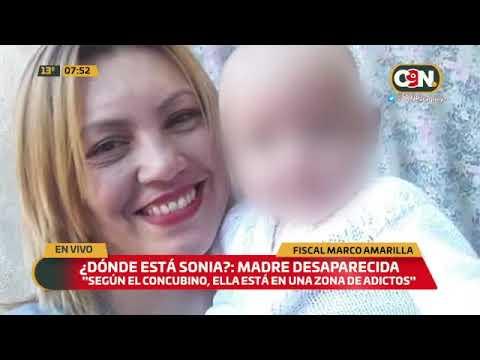 Madre desaparecida: Realizarán intensa búsqueda