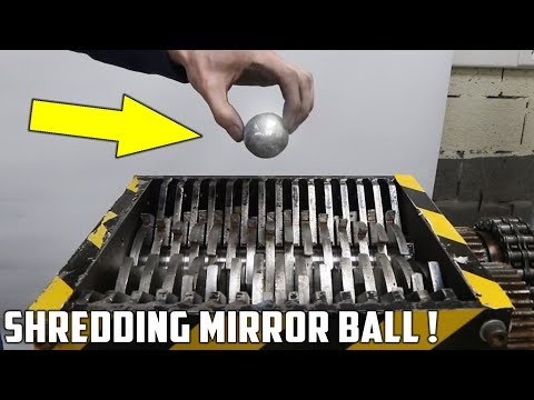 connectYoutube - Making a Mirror Polished Japanese Foil Ball and Shredding It !