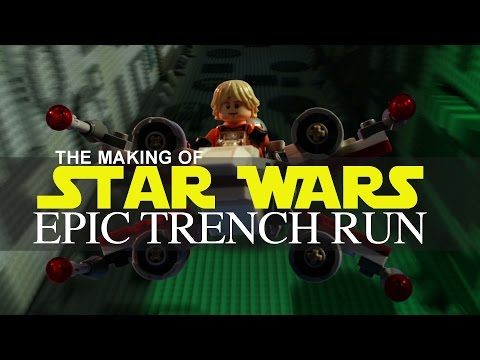 LEGO STAR WARS the making of Epic Trench Run