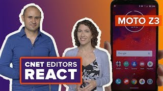 Moto Z3: CNET editors react