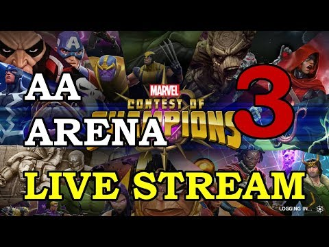 connectYoutube - Archangel Arena - Part 3   Marvel Contest of Champions Live Stream