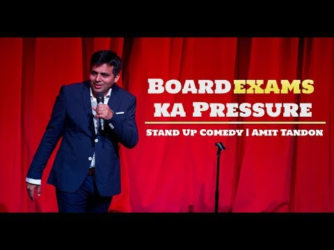 connectYoutube - Board Exams Pressure | Stand Up Comedy by Amit Tandon