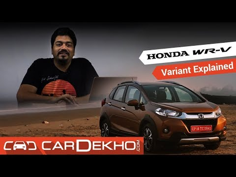 Honda WR-V | Which Variant To Buy?